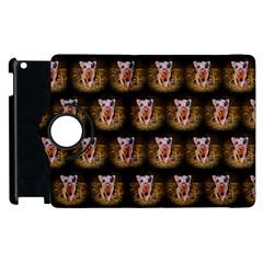 Cute Animal Drops   Piglet Apple Ipad 2 Flip 360 Case by MoreColorsinLife