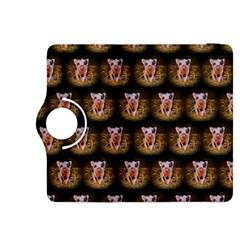 Cute Animal Drops   Piglet Kindle Fire Hdx 8 9  Flip 360 Case by MoreColorsinLife