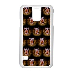 Cute Animal Drops   Piglet Samsung Galaxy S5 Case (white) by MoreColorsinLife