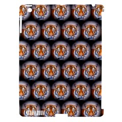 Cute Animal Drops   Tiger Apple Ipad 3/4 Hardshell Case (compatible With Smart Cover) by MoreColorsinLife