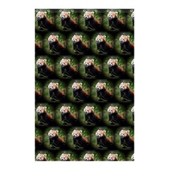 Cute Animal Drops   Red Panda Shower Curtain 48  X 72  (small)  by MoreColorsinLife