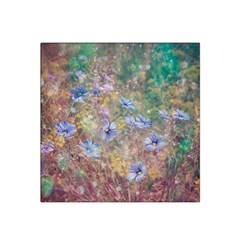 Texture Flowers Glitter  Satin Bandana Scarf by amphoto