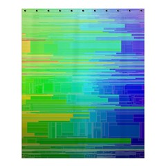 Colors Rainbow Pattern Shower Curtain 60  X 72  (medium)  by paulaoliveiradesign