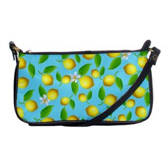 Lemon Pattern Shoulder Clutch Bags by Valentinaart