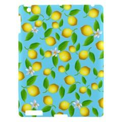 Lemon Pattern Apple Ipad 3/4 Hardshell Case by Valentinaart