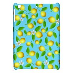 Lemon Pattern Apple Ipad Mini Hardshell Case by Valentinaart