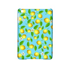 Lemon Pattern Ipad Mini 2 Hardshell Cases by Valentinaart