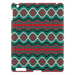 Ethnic Geometric Pattern Apple Ipad 3/4 Hardshell Case by linceazul