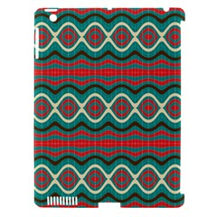 Ethnic Geometric Pattern Apple Ipad 3/4 Hardshell Case (compatible With Smart Cover) by linceazul