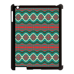Ethnic Geometric Pattern Apple Ipad 3/4 Case (black) by linceazul