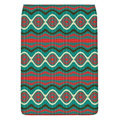 Ethnic Geometric Pattern Flap Covers (l)  by linceazul