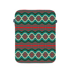 Ethnic Geometric Pattern Apple Ipad 2/3/4 Protective Soft Cases by linceazul