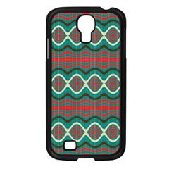 Ethnic Geometric Pattern Samsung Galaxy S4 I9500/ I9505 Case (black) by linceazul