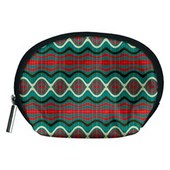 Ethnic Geometric Pattern Accessory Pouches (medium)  by linceazul