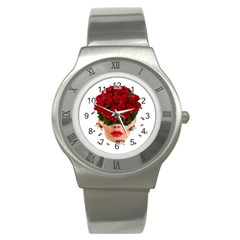 Beautiful Life Stainless Steel Watch by Valentinaart