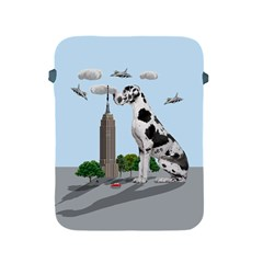 Great Dane Apple Ipad 2/3/4 Protective Soft Cases by Valentinaart
