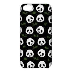Panda Pattern Apple Iphone 5c Hardshell Case by Valentinaart