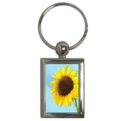 Sunflower Key Chains (rectangle)  by Valentinaart