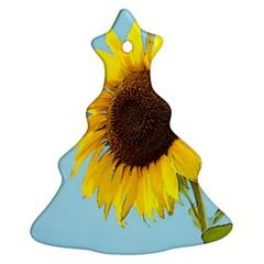 Sunflower Ornament (christmas Tree)  by Valentinaart