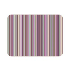 Lines Double Sided Flano Blanket (mini)  by Valentinaart
