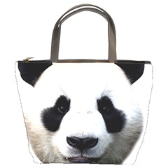 Panda Face Bucket Bags by Valentinaart