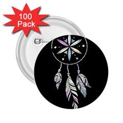 Dreamcatcher  2 25  Buttons (100 Pack)  by Valentinaart