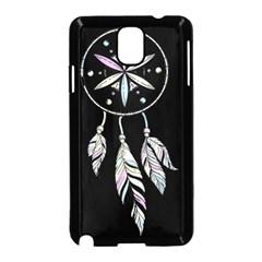 Dreamcatcher  Samsung Galaxy Note 3 Neo Hardshell Case (black) by Valentinaart