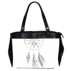 Dreamcatcher  Office Handbags (2 Sides)  by Valentinaart