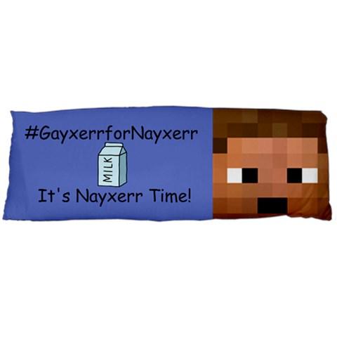 It s Nayxerr Time By Dennisflux   Body Pillow Case (dakimakura)   4pjd30vqptl5   Www Artscow Com Body Pillow Case