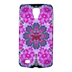 Fantasy Cherry Flower Mandala Pop Art Galaxy S4 Active by pepitasart