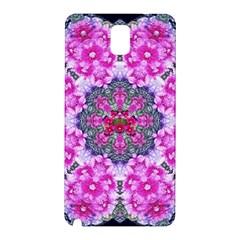 Fantasy Cherry Flower Mandala Pop Art Samsung Galaxy Note 3 N9005 Hardshell Back Case