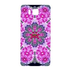 Fantasy Cherry Flower Mandala Pop Art Samsung Galaxy Alpha Hardshell Back Case by pepitasart