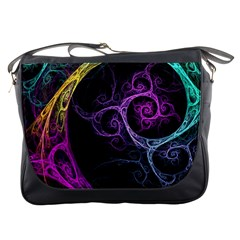 Colorful Bright Tone  Messenger Bags by amphoto