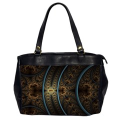 Lines Dark Patterns Background Spots  Office Handbags (2 Sides)  by amphoto