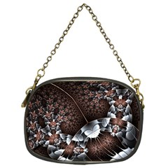 Lines Background Light Dark  Chain Purses (one Side)  by amphoto