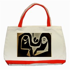 With Love Classic Tote Bag (red) by MRTACPANS