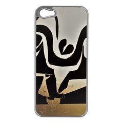 With Love Apple Iphone 5 Case (silver) by MRTACPANS