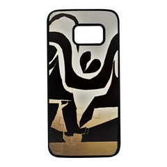 With Love Samsung Galaxy S7 Black Seamless Case by MRTACPANS