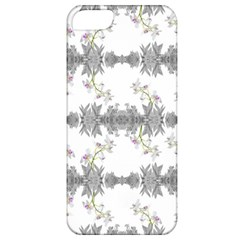 Floral Collage Pattern Apple Iphone 5 Classic Hardshell Case by dflcprints