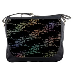 Birds With Nest Rainbow Messenger Bags by ssmccurdydesigns