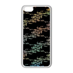 Birds With Nest Rainbow Apple Iphone 5c Seamless Case (white) by ssmccurdydesigns