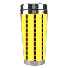 Pattern Background Wallpaper Banner Stainless Steel Travel Tumblers by Nexatart