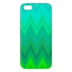 Zig Zag Chevron Classic Pattern Iphone 5s/ Se Premium Hardshell Case by Nexatart