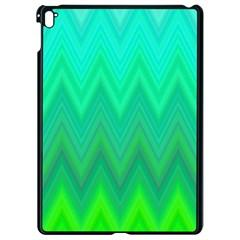 Zig Zag Chevron Classic Pattern Apple Ipad Pro 9 7   Black Seamless Case by Nexatart