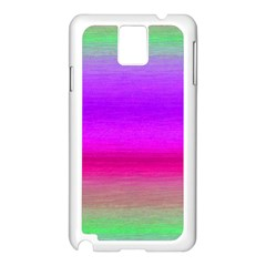 Ombre Samsung Galaxy Note 3 N9005 Case (white) by ValentinaDesign