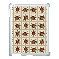 Native American Pattern Apple Ipad 3/4 Case (white) by linceazul
