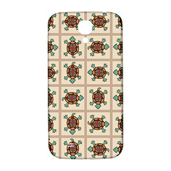 Native American Pattern Samsung Galaxy S4 I9500/i9505  Hardshell Back Case by linceazul