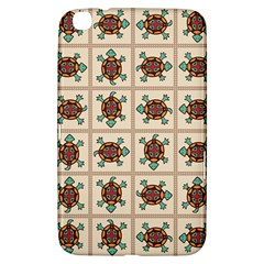 Native American Pattern Samsung Galaxy Tab 3 (8 ) T3100 Hardshell Case  by linceazul