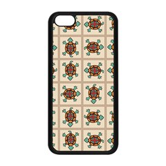 Native American Pattern Apple Iphone 5c Seamless Case (black) by linceazul