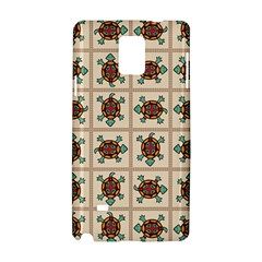 Native American Pattern Samsung Galaxy Note 4 Hardshell Case by linceazul